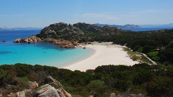 Spiaggia Rosa, isola di Budelli, Sardegna - Sputnik Italia