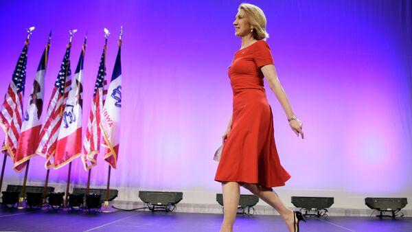 Republican presidential candidate Carly Fiorina - Sputnik Italia