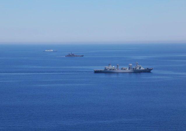 Esercitazioni russo-cinesi nel Mediterraneo