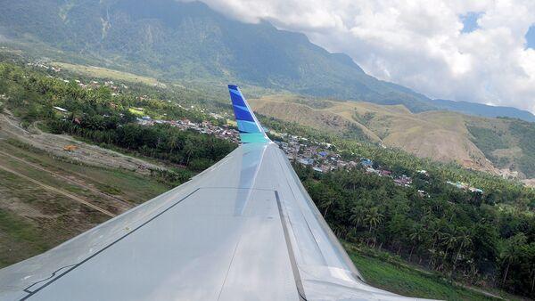 Una vista dal bordo dell'aereo - Sputnik Italia