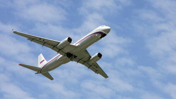 Tu-214 aircraft for presidential business administration - Sputnik Italia