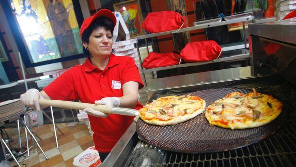 Il Festival di pizza a Mosca.  2007 - Sputnik Italia