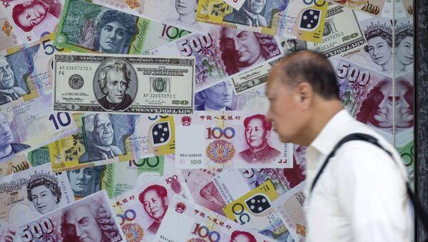 Alla borsa di Hong Kong, Cina. - Sputnik Italia