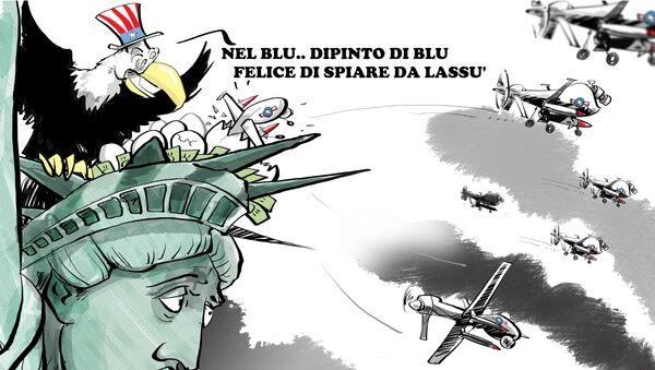 Droni del Pentagono - Sputnik Italia