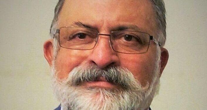 """Il banchiere iraniano Farhad Saidi, presidente della banca """"Asia-Bank"""" vive in Russia da quasi 30 anni."""