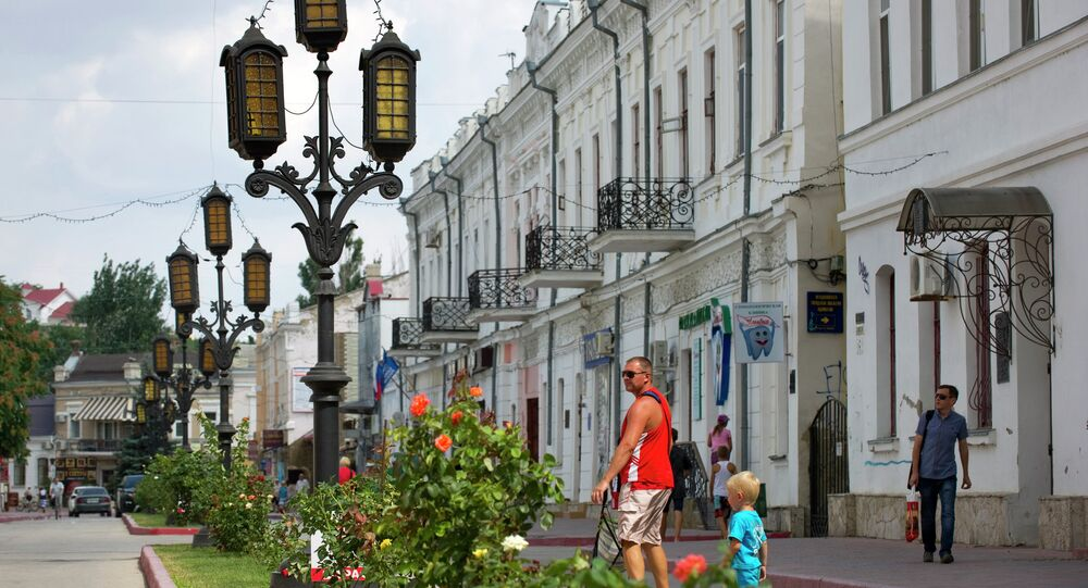 Cities of Russia. Feodosia