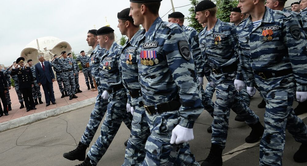 Forze speciali russe (foto d'archivio)