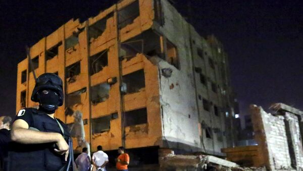 Colpito il Palazzo della Sicurezza Nazionale. Si contano 29 feriti, tra cui sei agenti di polizia. - Sputnik Italia