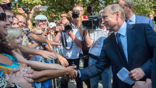 La visita di Putin in Crimea - Sputnik Italia