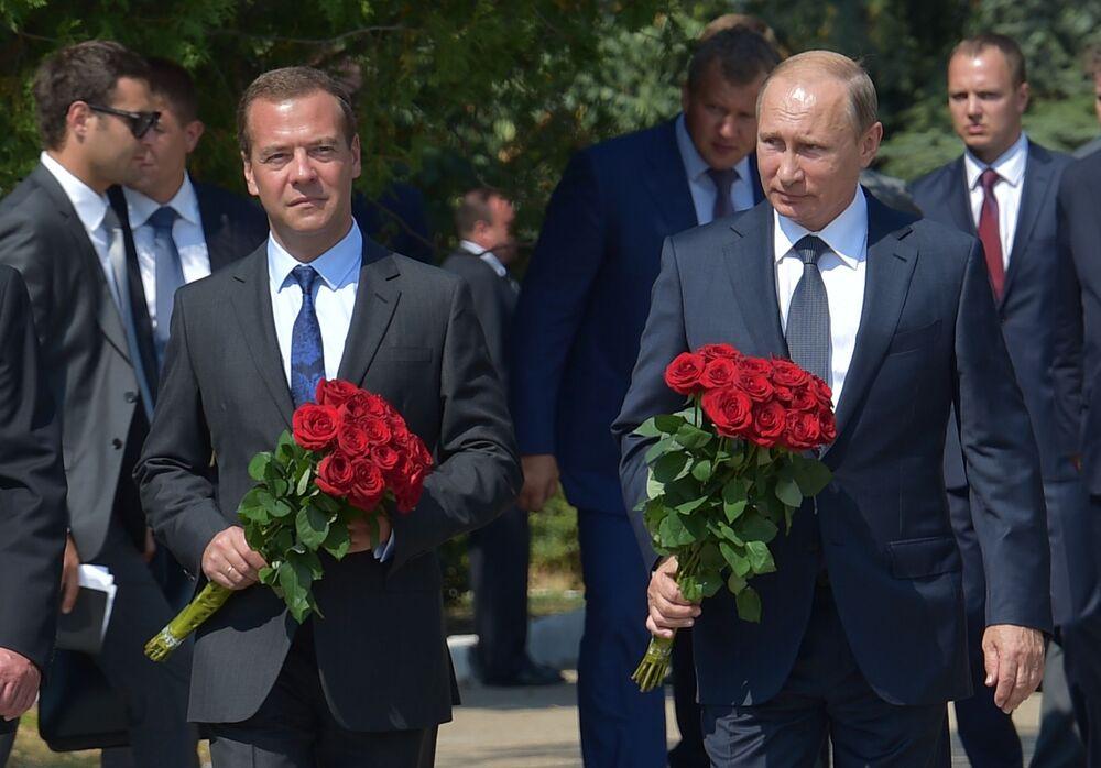 La visita di Putin in Crimea