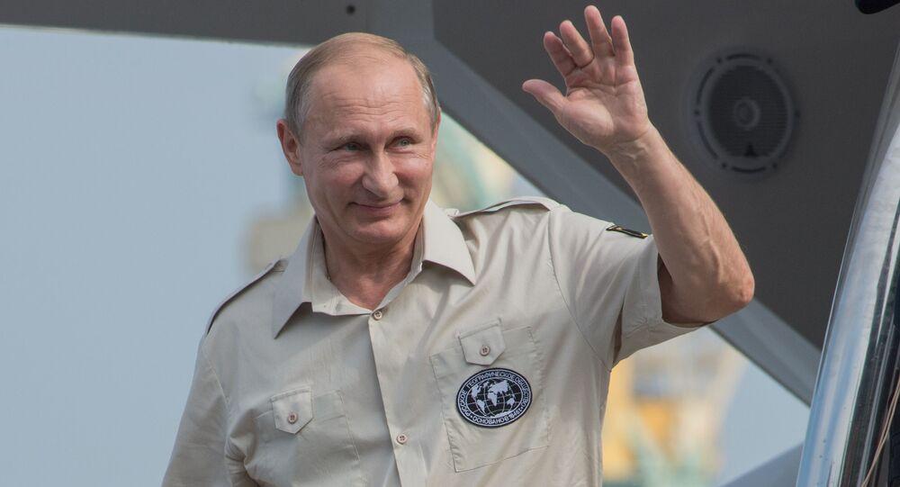 L'ultima strenua difesa dell'Occidente e` rappresentata da Vladimir Putin e dalla Russia,